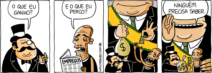 música rico magnata pobre povo governo dinheiro cala-boca Lulu Santos