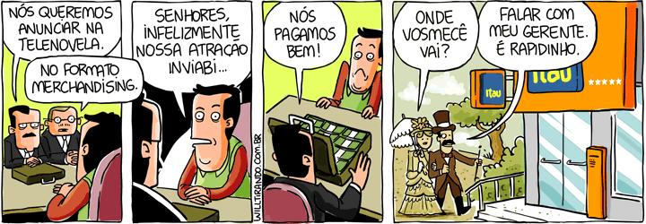 merchandising novela TV televisão dinheiro propaganda anúncio época sinha moça