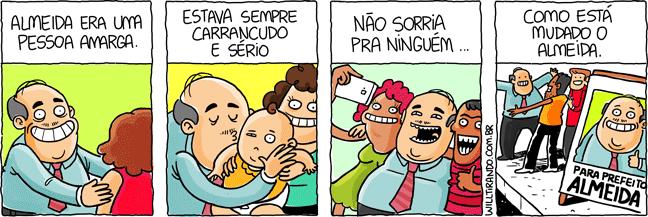 político Almeida campanha prefeito eleições eleição feliz alegre sorridente amigo povo