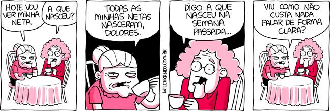 Anésia Dolores neta nasceu café mesa