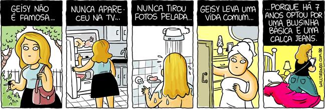 Geisy Arruda artista fama famosa vida comum escolhas banho vestido oportunidade