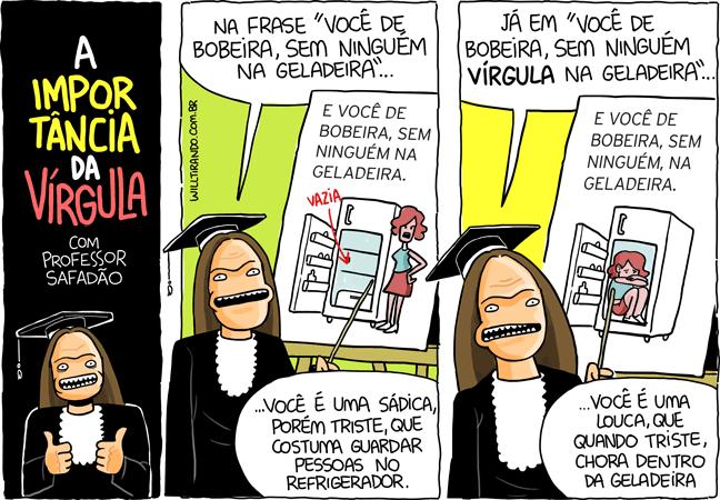 Wesley Safadão professor geladeira importância da vírgula aula