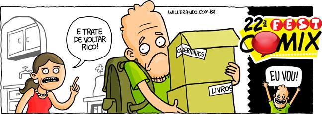 fest comix will bonita livros caixas