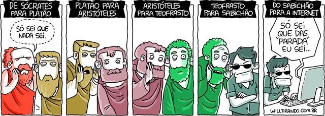 So Sei Que Nada Sei Frase De Socrates: WillTirando